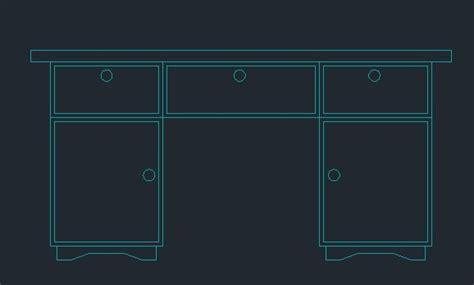office desk  lockers  dwg block  autocad