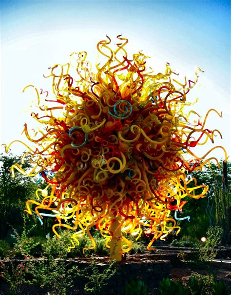Soul Amp Psychedelic Glass Photos Chihuly Glass At Dusk Botanical Gardens Chihuly Exhibit