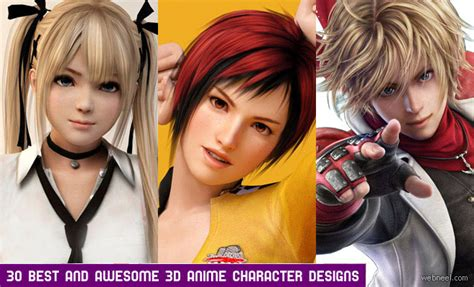 best animated japanese 25 realistic 3d models and character designs for your