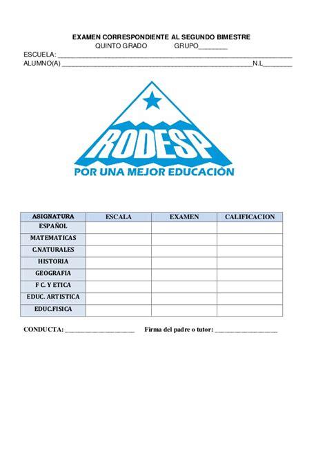 examen bimestral sexto grado apexwallpaperscom examen bimestre 2 quinto grado 2012 2013