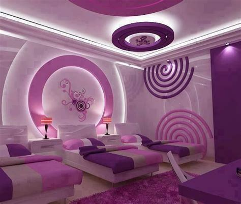 great purple themed bedroom my