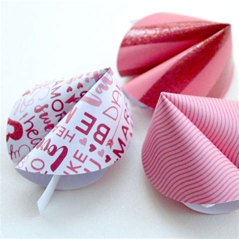 Paper Fortune Cookies - paper fortune cookies for s day paper