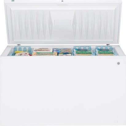 Chest Freezer Second Mulus ge fcm20suww 19 7 cu ft chest freezer with manual