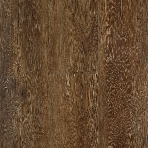 Luxury Plank Vinyl Flooring Shop Stainmaster 10 5 74 In X 47 74 In Burnished Oak Auburn Locking Luxury Commercial