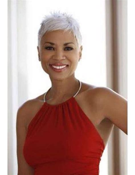 gray hair styles african american women over 50 259 best older african american women hairstyles images on