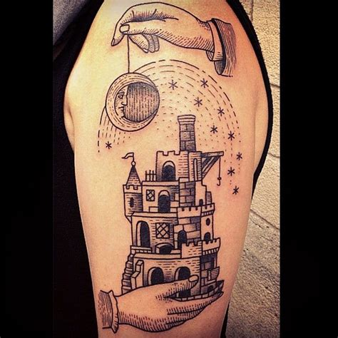 castle tattoo design 17 well crafted castles tattoos