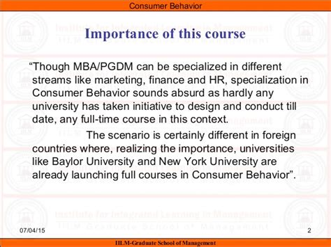 Different Specialisations In Mba by Cb Syllabus