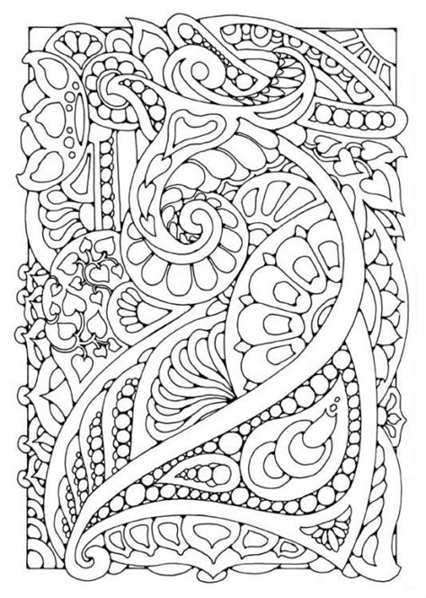 Doodle Coloring Page self care sunday mindful colouring sheets