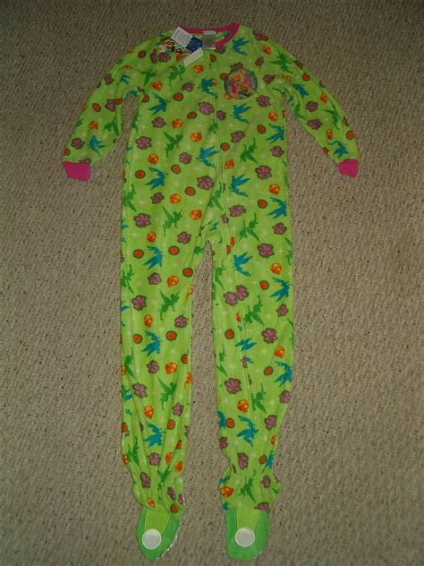 Footed Blanket Sleepers by Nwt Disney Fairies Tinkerbell Footed Blanket Sleeper