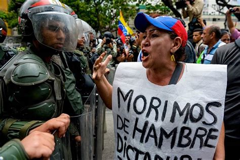 imagenes impactantes de venezuela ahead of massive protest march venezuela opposition