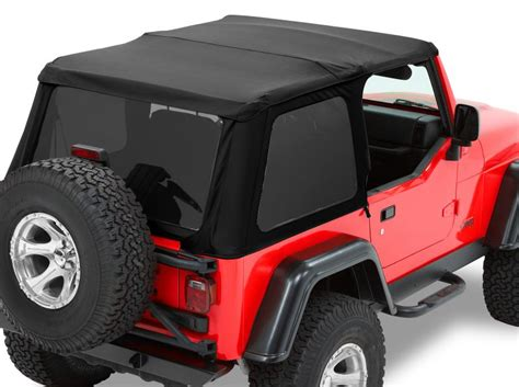 Best Top Jeep Bestop 56920 17 Bestop 174 Trektop Nx Twill Soft Top For 97