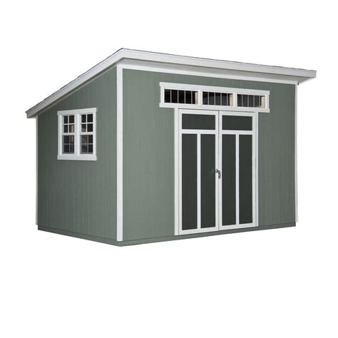 Heartland Metropolitan Shed by Metropolitan 12ft X 7ft X 6in Heartland Industries