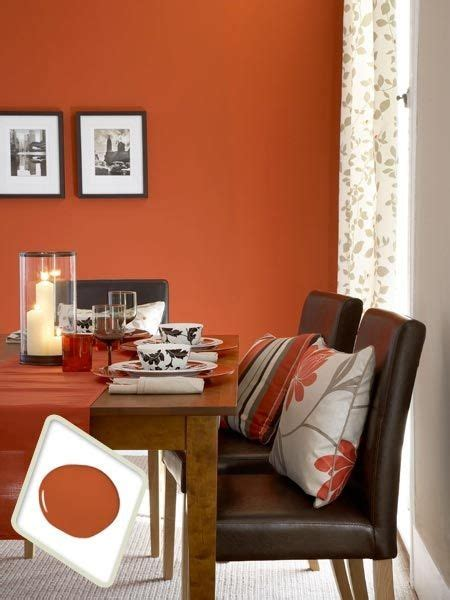 Best Color For Dining Room by Color Therapy Orange Walls 20 Photos Messagenote