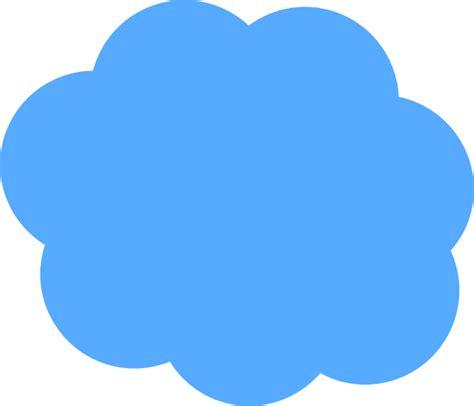 cloud clipart blue cloud clip at clker vector clip