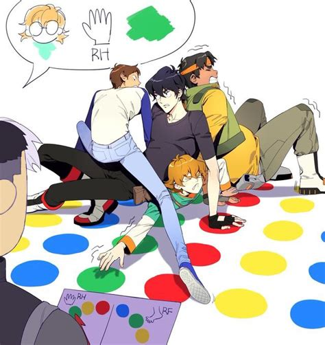 One Piece Kink Meme - the voltron team doing twister voltron pinterest