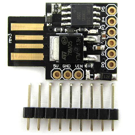 arduino usb interface digispark kickstarter attiny85