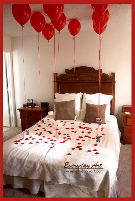 surprise him in bed everyday art thoughtful valentine s gift for him