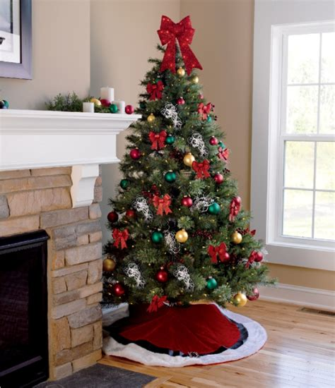cheap christmas trees with lights 60 most popular tree decorations ideas a diy projects