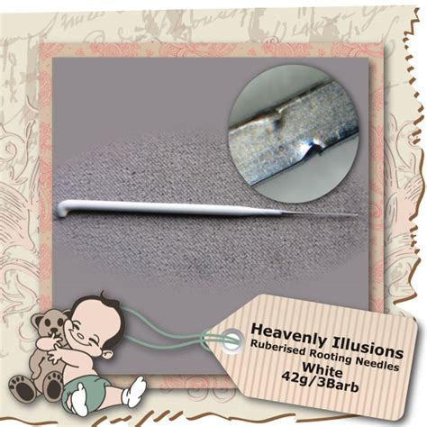 heavenly illusions variety pack rooting needles reborn doll heavenly illusions rooting needles 42g 3barb heavenly