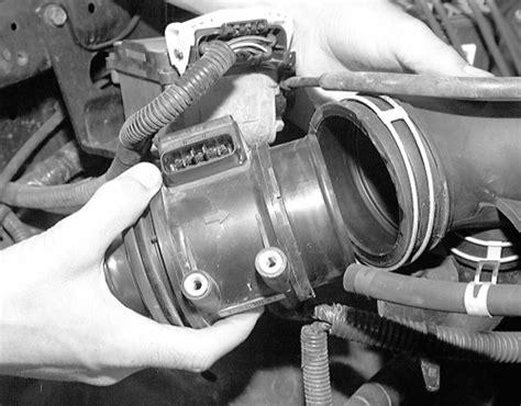 manual repair autos 1997 chevrolet 3500 electronic valve timing service manual remove maf sensor on a 1997 gmc 3500 maf sensor code p0102 from bad engine