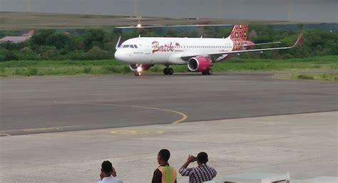 batik air ke labuan bajo hari ini batik air terbang perdana jakarta labuan bajo