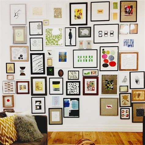 gallery wall art gallery wall at west elm hq art ideas pinterest