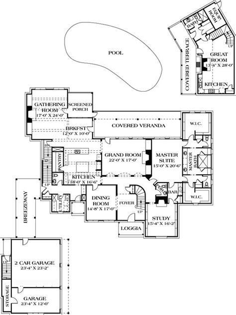 rec room floor plans house plan 96912 european luxury house plans pinterest