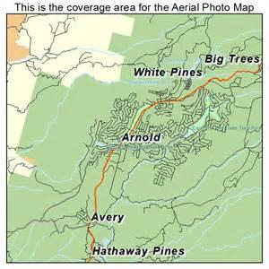 arnold california map aerial photography map of arnold ca california