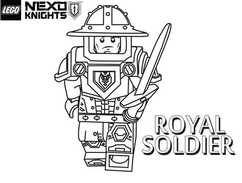 lego soldier coloring pages royal soldier coloring page printable sheet lego nexo