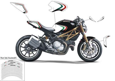 Ducati Monster 1100 Evo Aufkleber monster 696 796 1100 s evo folien designkits optik und