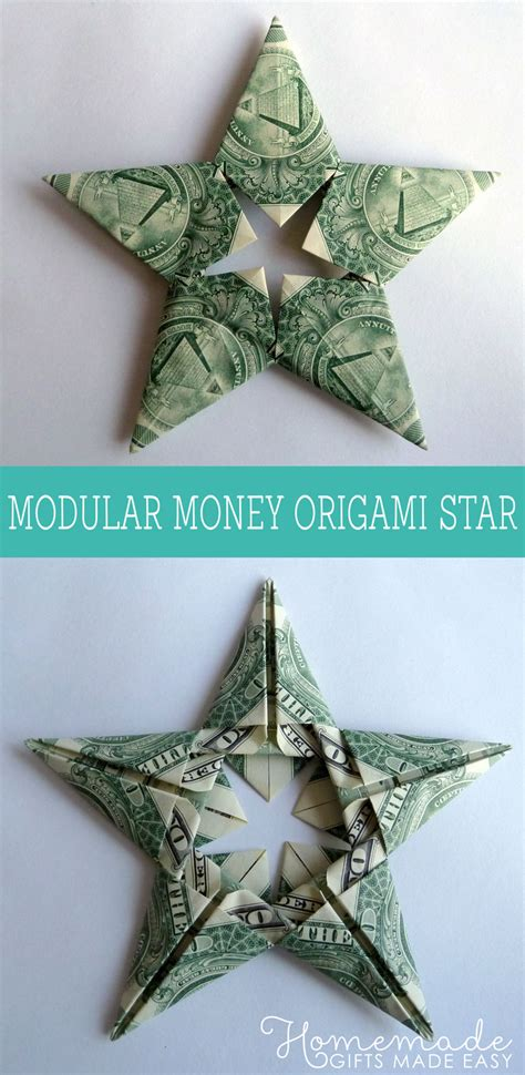Easy Dollar Bill Origami For - modular money origami from 5 bills how to fold step