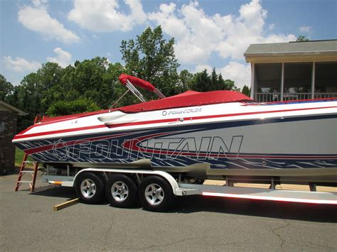 fountain boats jobs fountain 42 lightning 2001 for sale for 110 000 boats