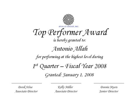 performer certificate templates top performer award flickr photo