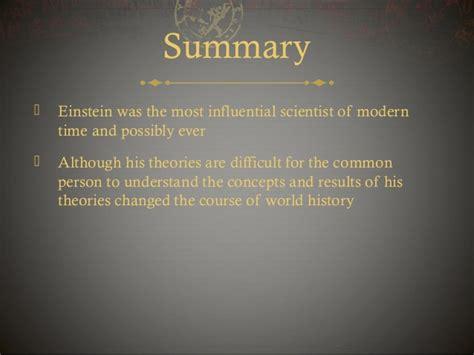 summary of the biography of albert einstein albert einstein