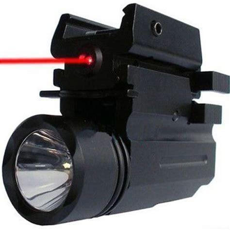 glock 17 light and laser 2in1 tactical 3 model led flashlight red dot laser sight
