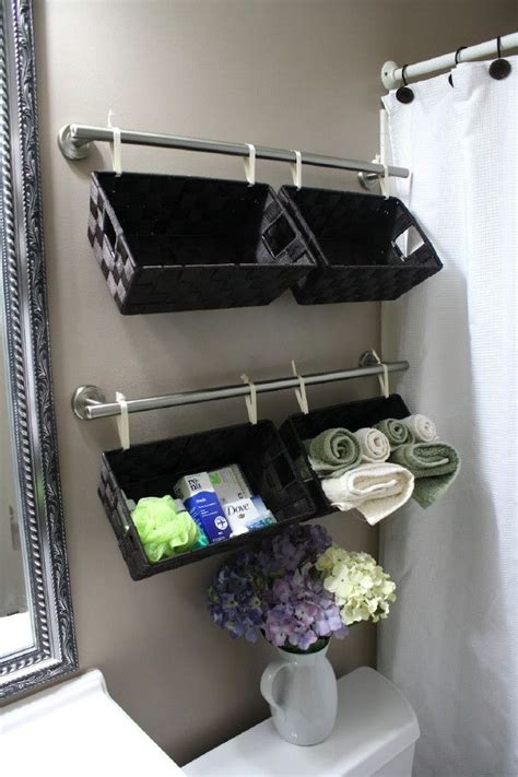 storage for small bathrooms 40 brilliant diy storage and organization hacks for small
