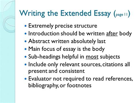 structure extended essay extended essay topics to avoid