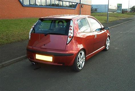 Fiat Punto Hgt Fiat Punto 1 8 Hgt Photos And Comments Www Picautos