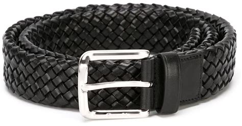 Woven Belt church s woven belt in black for lyst