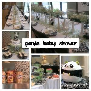 panda baby shower theme i want to be a planner