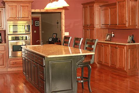 rustic cherry kitchen cabinets rustic cherry kitchen cabinets kitchen bath cabinetry lec