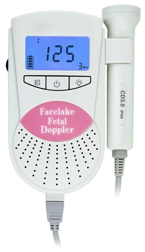 Fetal Dopper Biston Hi Sound sonoline b fetal doppler in pink baby monitor fhr