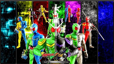 download theme windows 7 kamen rider wizard kamen rider double wallpaper