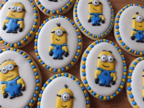 minion cookies minion cookies characters minion cookies