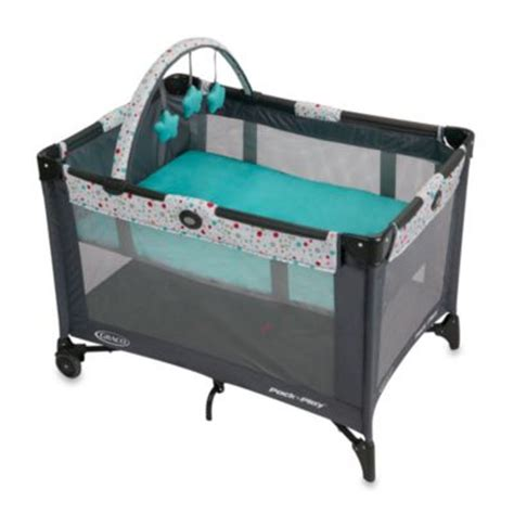 pack and play bed graco playards portable beds from buy buy baby