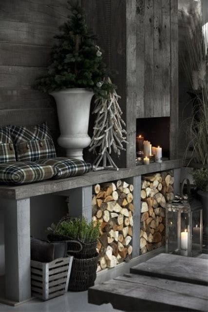 winter home decorations 38 stylish christmas d 233 cor ideas in all shades of grey
