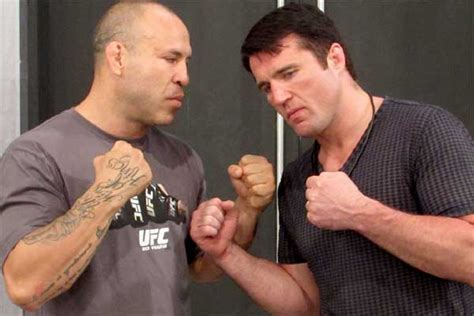 Rage Vs Chael Sonnen Chael Sonnen The Next Time I See Wanderlei Silva I M Going To Fight Him