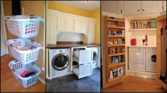 Inexpensive Bathroom Remodel Ideas super clever laundry room storage solutions