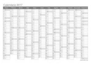 Calendrier Industriel 2017 Calendario 2017 Para Imprimir Icalendario Net