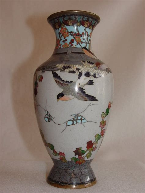 Antique Vases For Sale by Grey Cloisonne Vase For Sale Antiques Classifieds